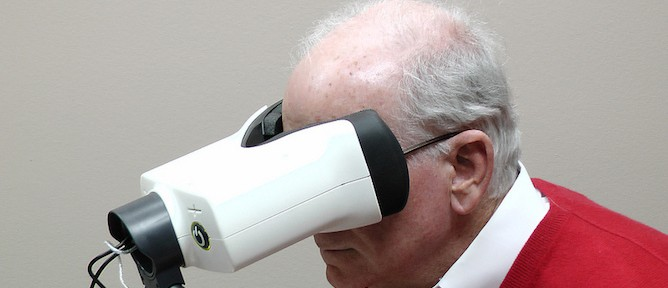AMD patients use the device daily to monitor their vision.