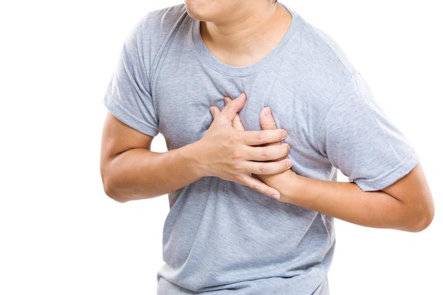 Sensing a heart attack in progress. Image via Shutterstock.com