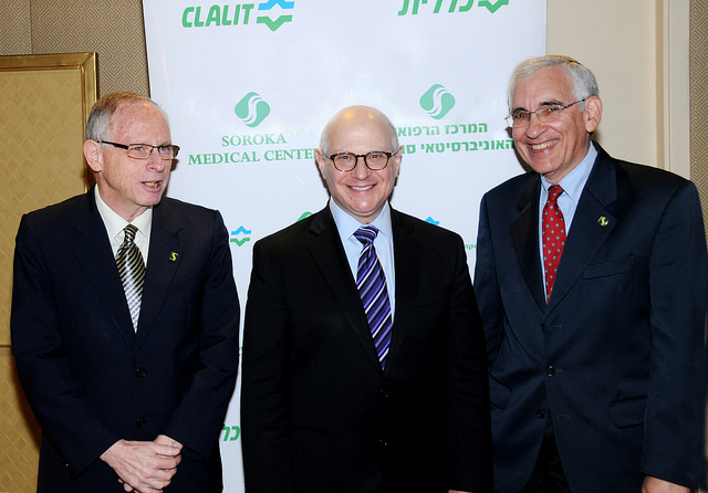 From left, doctors Davidson, Norton and Geffen.
