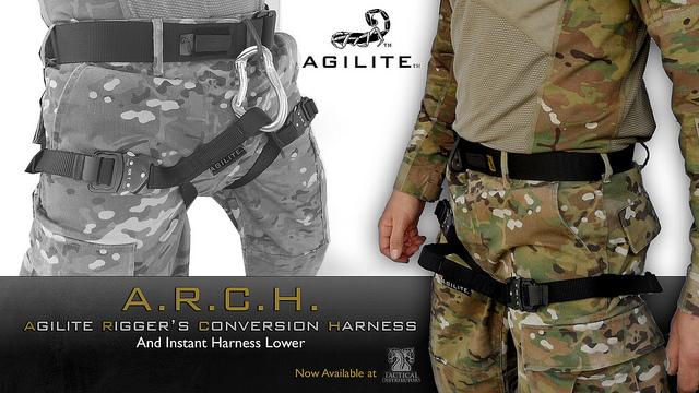 Agilite's instant harness.