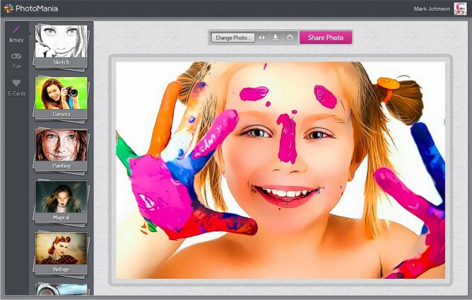 Add color to your photographs in a click. (Photo: PhotoMania)