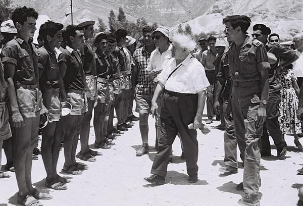 600px-Ben_Gurion_Beer_Ora_1957