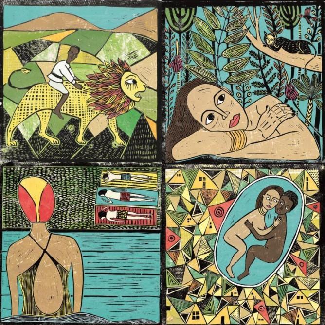Moran Yogev's creation will be displayed at Illustration Week.
