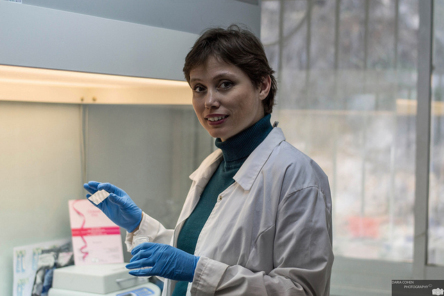 Molecular biologist Galit Yahalom at EventusDx.