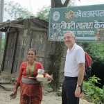 Yehuda Neumark in Nepal.