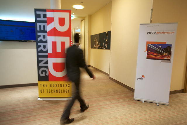 A glimpse of the Red Herring Top 100 Europe event