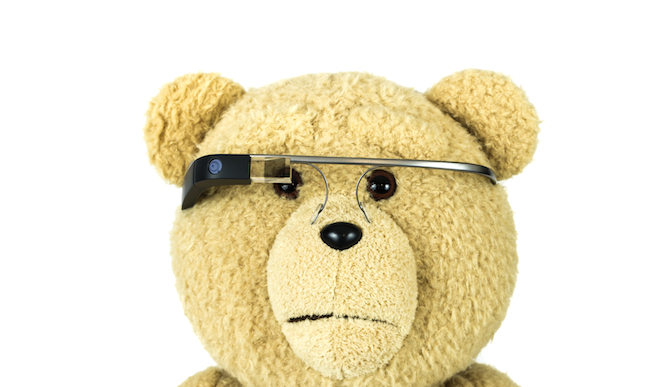 Google Glass. Photo by www.shutterstock.com