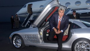 Jay Leno will be making his first visit to Israel in May 2014. (Shutterstock)