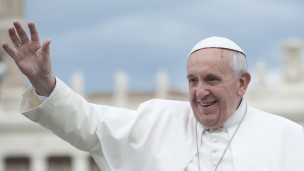 Pope Francis photo via Shutterstock.com