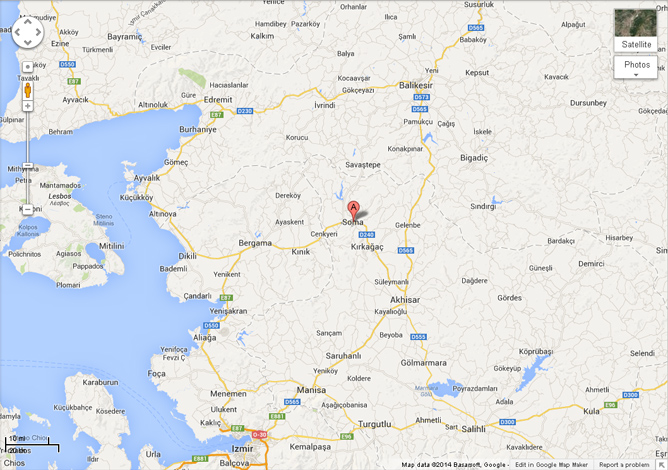Soma, Turkey (Google Maps)