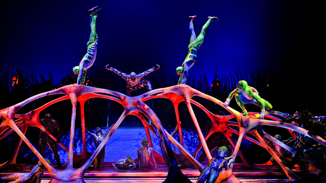 Cirque duSoleil returns for the second summer.