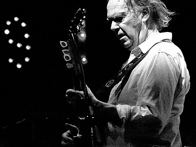 Neil Young and Crazyhorse to perform July 17. Photo courtesy of Wikimedia Commons.
