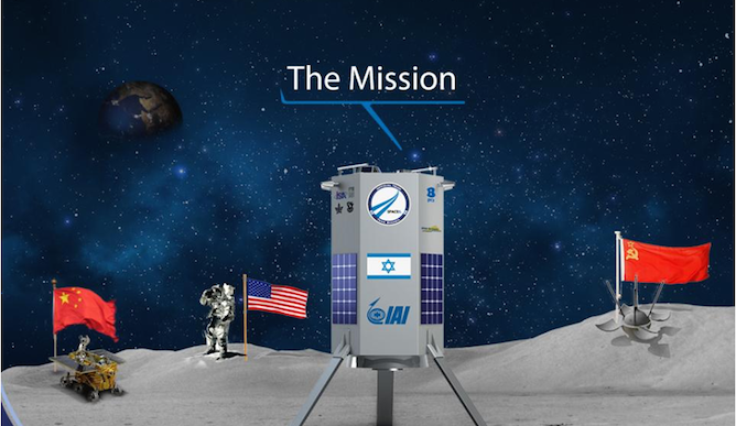 SpaceIL is heading for the moon.