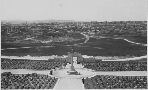 Jerusalem._War_cemetery-1930s