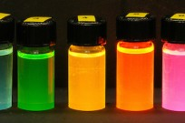 Brilliant color achieved with nano-crystals.