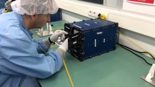 Israeli students make history with nano-satellite launch into space