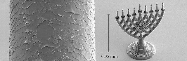 The microscopic hanukkiyah.