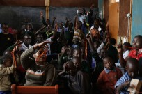 Schoolchildren in Mathare clearly love their Keepods.