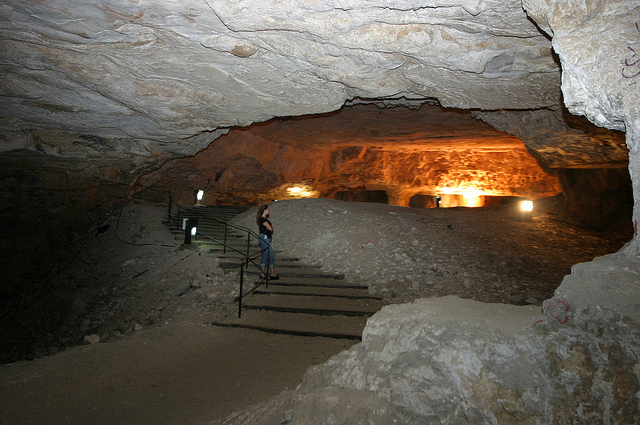 Photo of Zedekiah's Cave courtesy of the Tourism Ministry.