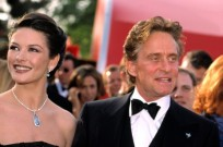 Michael Douglas, Catherine Zeta Jones in Israel. (Shutterstock)