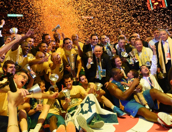 Blatt led Maccabi Tel Aviv to a stunning upset of Real Madrid in this year's Euroleague championship. (Shutterstock)