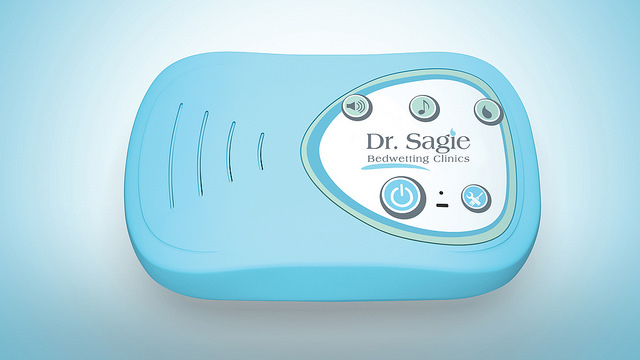The Sagie system's bedwetting alarm.