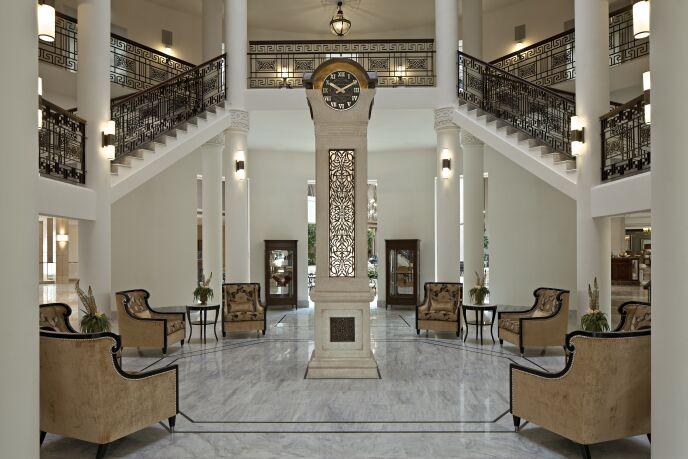 Posh new waldorf astoria opens in jerusalem israel21c for Hotel design jerusalem