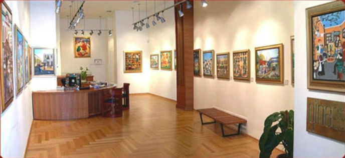GINA Gallery on Tel Aviv's Dizengoff Street.