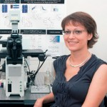 Inna Slutsky in her Tel Aviv University lab.