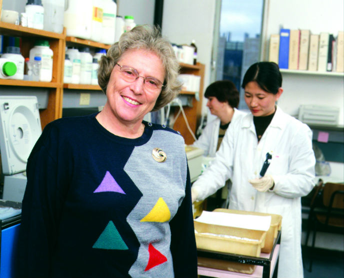 Dementia drug Exelon's inventor Prof. Marta Weinstock-Rosin.