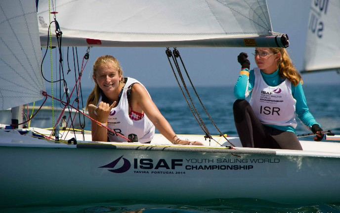 Yahel Wallach and Stav Brokman sail to silver.