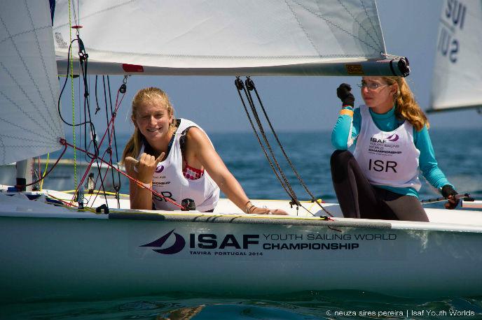 Yahel Wallach and Stav Brokman sail to silver.