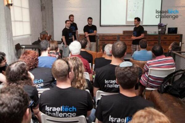 The war didn't deter young techies from around the world to come to Tel Aviv for a hackathon.