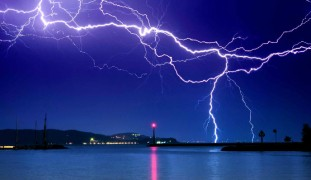 If you can forecast where lightning will strike companies can deliver products to keep people safe. Image via www.Shutterstock.com