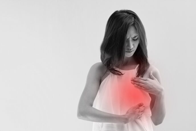 Ten percent of women taking Herceptin for breast cancer develop cardiac side effects. Image via Shutterstock.com