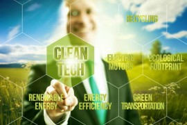 Clean-tech image via Shutterstock.com
