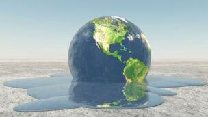 Climate change image via Shutterstock.com