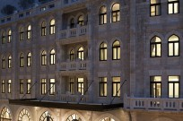 The Waldorf exterior. Photo courtesy of the Waldorf Astoria Jerusalem
