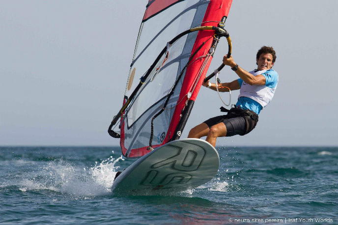 Yael Paz sails to gold.