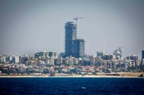 Ashdod's beach skyline. (Moshe Shai/Flash90)