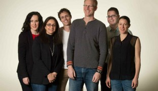 Israel's core Kaltura team, from left: Leah Belsky, Naama Halevi, Eran Etam, Ron Yekutiel, Shay David and Michal Tsur Shalev.