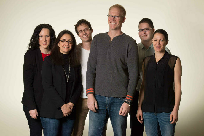 Israel's core Kaltura team, from left: Leah Belsky, Naama Halevi, Eran Etam, Ron Yekutiel, Shay David and Michal Tsur Shalev.
