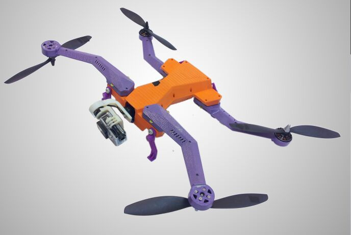 The AirDog follow-on drone for GoPro's camera.