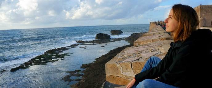 Malvina Goldfeld has traveled the world but loves living in seaside Jaffa.
