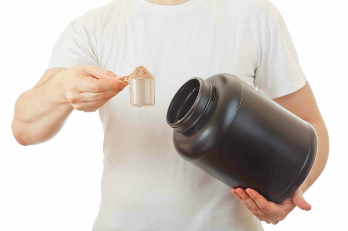 Whey may be the way to go. Image via Shutterstock.com.
