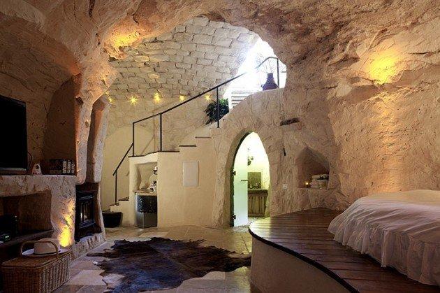 """The Columbarium """"spa cave."""