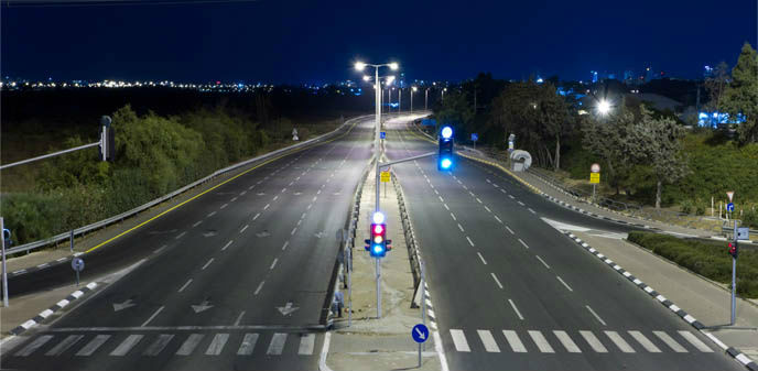 An empty highway on Yom Kippur in Israel. (Eldad Carin/Shutterstock.com)