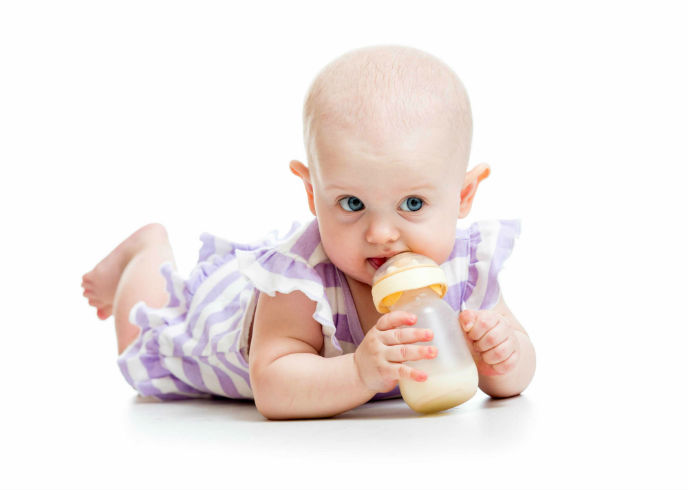 Revolutionary option for baby nutrition. Image via Shutterstock.com