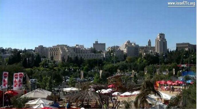 Jerusalem gets a beach!