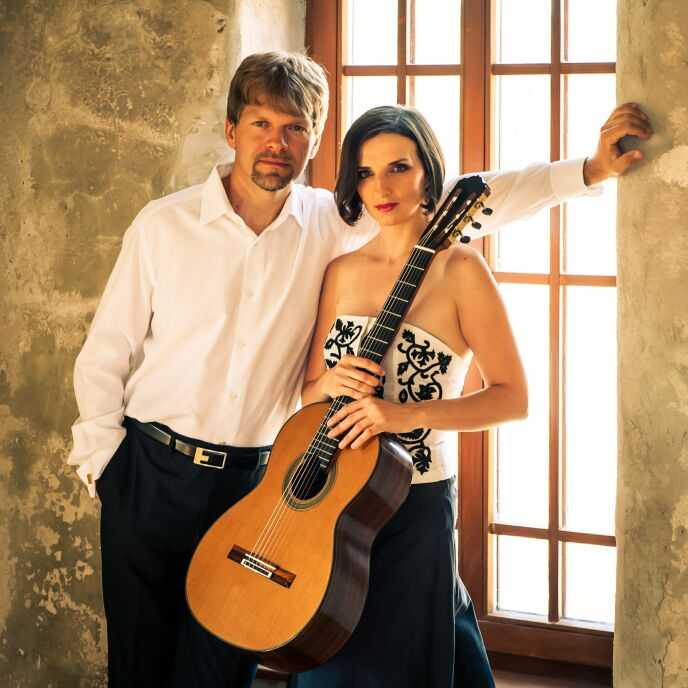 Miriam Rodriguez-Brullova and Pavol Remenar of Slovakia.
